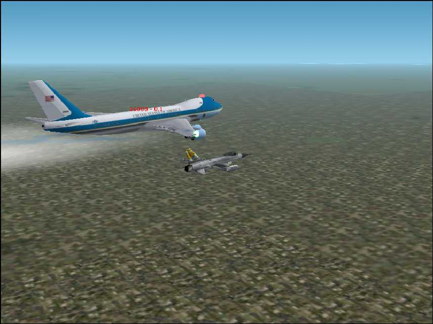 air force one escort