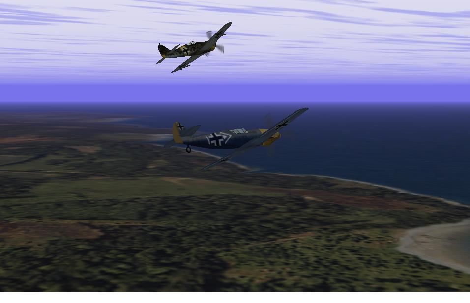 Two German Planes in formation - Photo 844