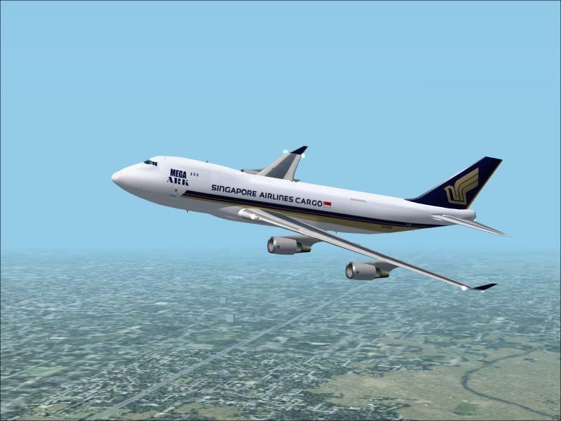 Singapore Airlines After TakeOff. - Photo 1228