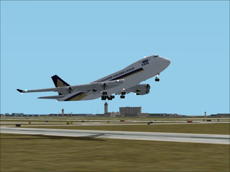 Singapore Airlines TakeOff - Photo 1224