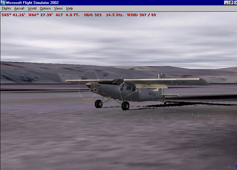 Touchdown on islet off Antarctica in Porter Pilatus. - Photo 1188