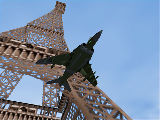 Harrier vs. The Eiffel Tower photo 777