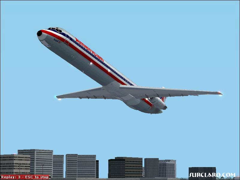 American Airlines flight 456 from LAX to STL  has just taken off. - Photo 2727
