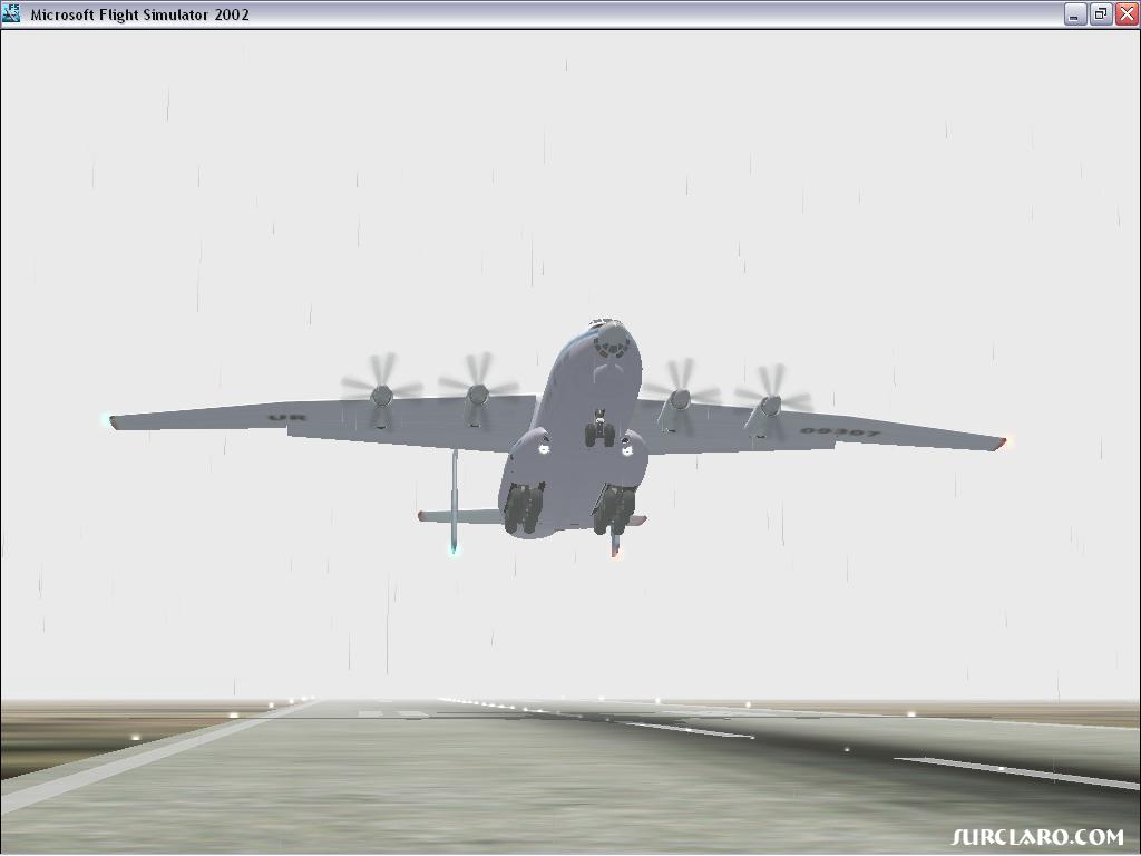 Antonov 22 is taking off RWY 03L in GCLP - Photo 2965