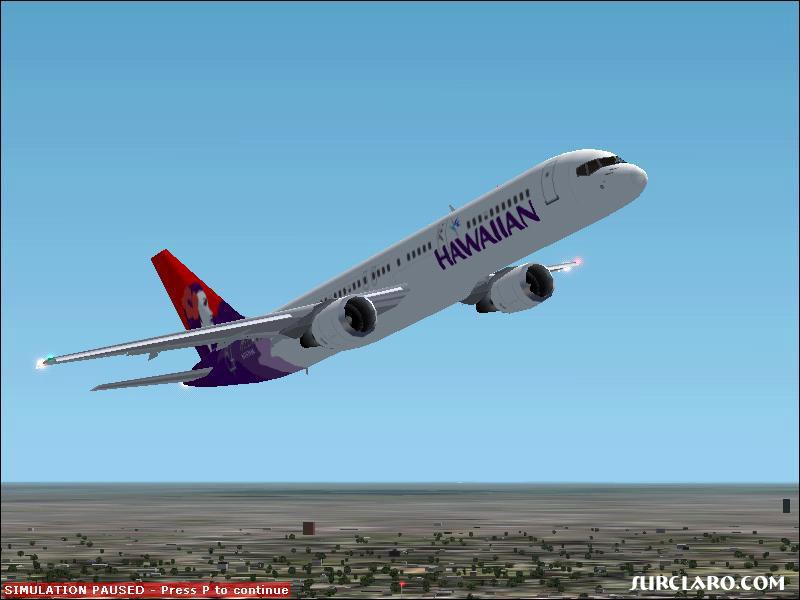 Hawaiian Airlines takes off from Chicago O'Hare International. - Photo 2738