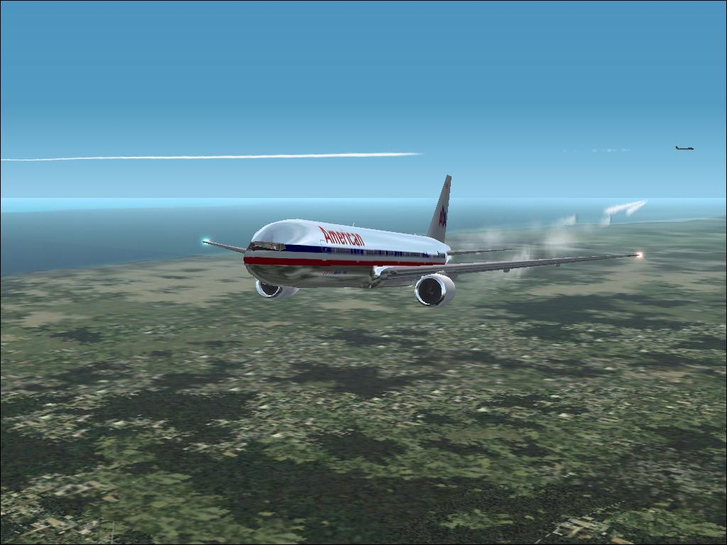 Wonderful Chromed American Airlines created using Project Open Sky! - Photo 1714