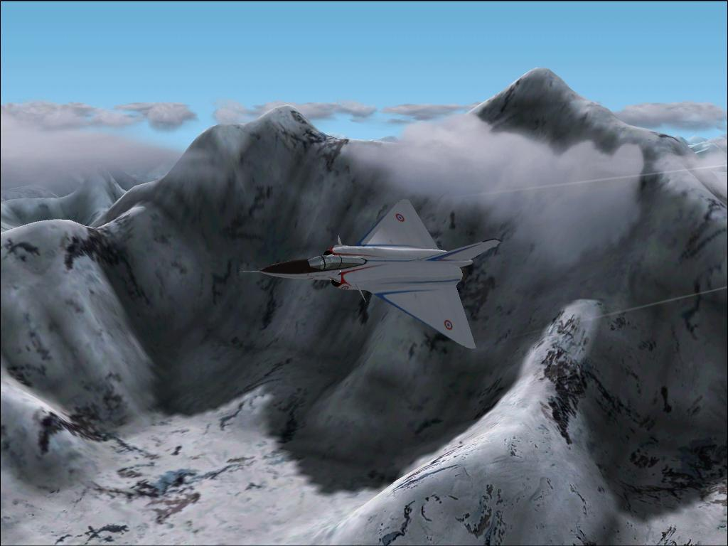 Flying in my Mirage 4000, which is an AWESOME airplane, by Mt. Everest - Photo 1617