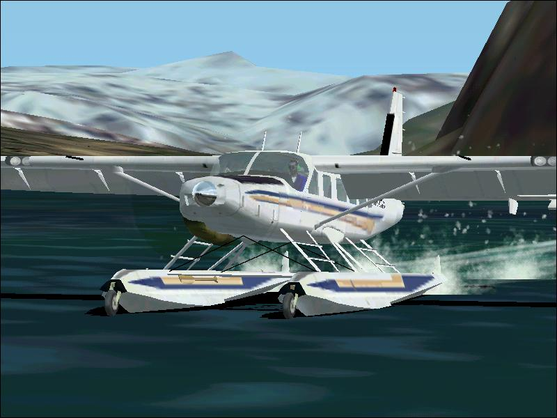 A good water landing in Jeneau,Alaska.