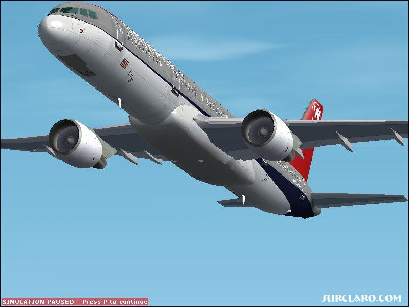 Fs2002 Northwest Boeing 757...looks nice - Photo 3441