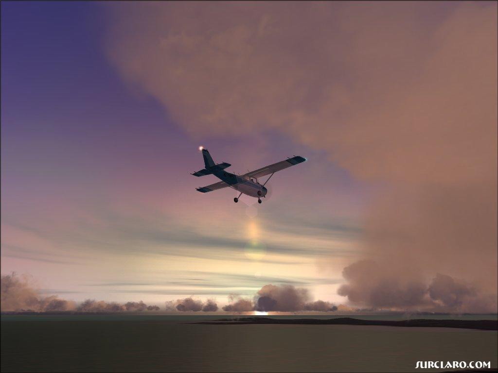 The default Cessna C172SP Skyhawk in FS2004. - Photo 3485