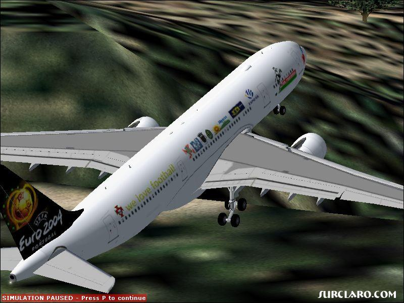 Fs2004 AirBus A330-200 Tap air portugal euro 2004 livery - Photo 3466