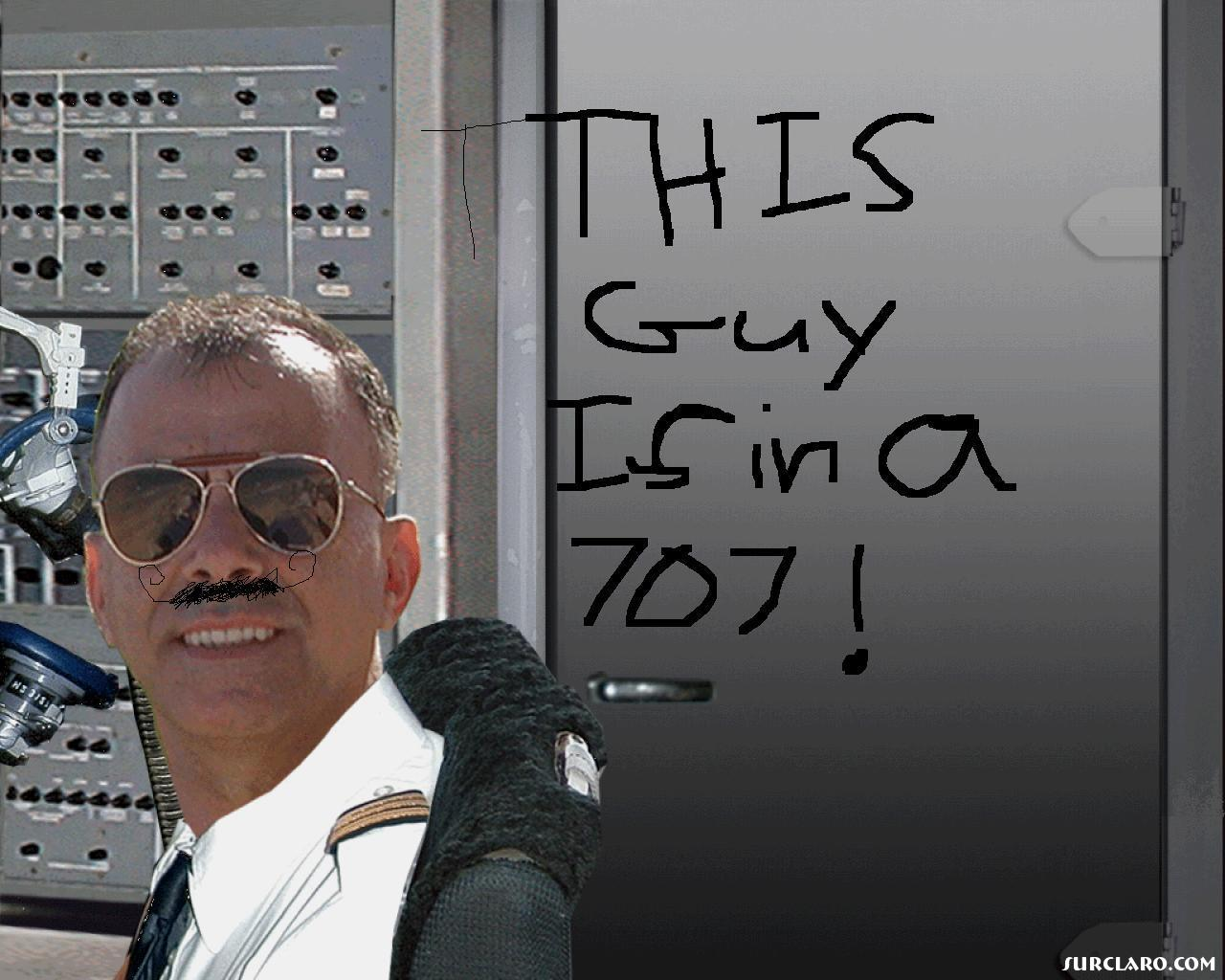 This guy is in a 707 - Photo 14205