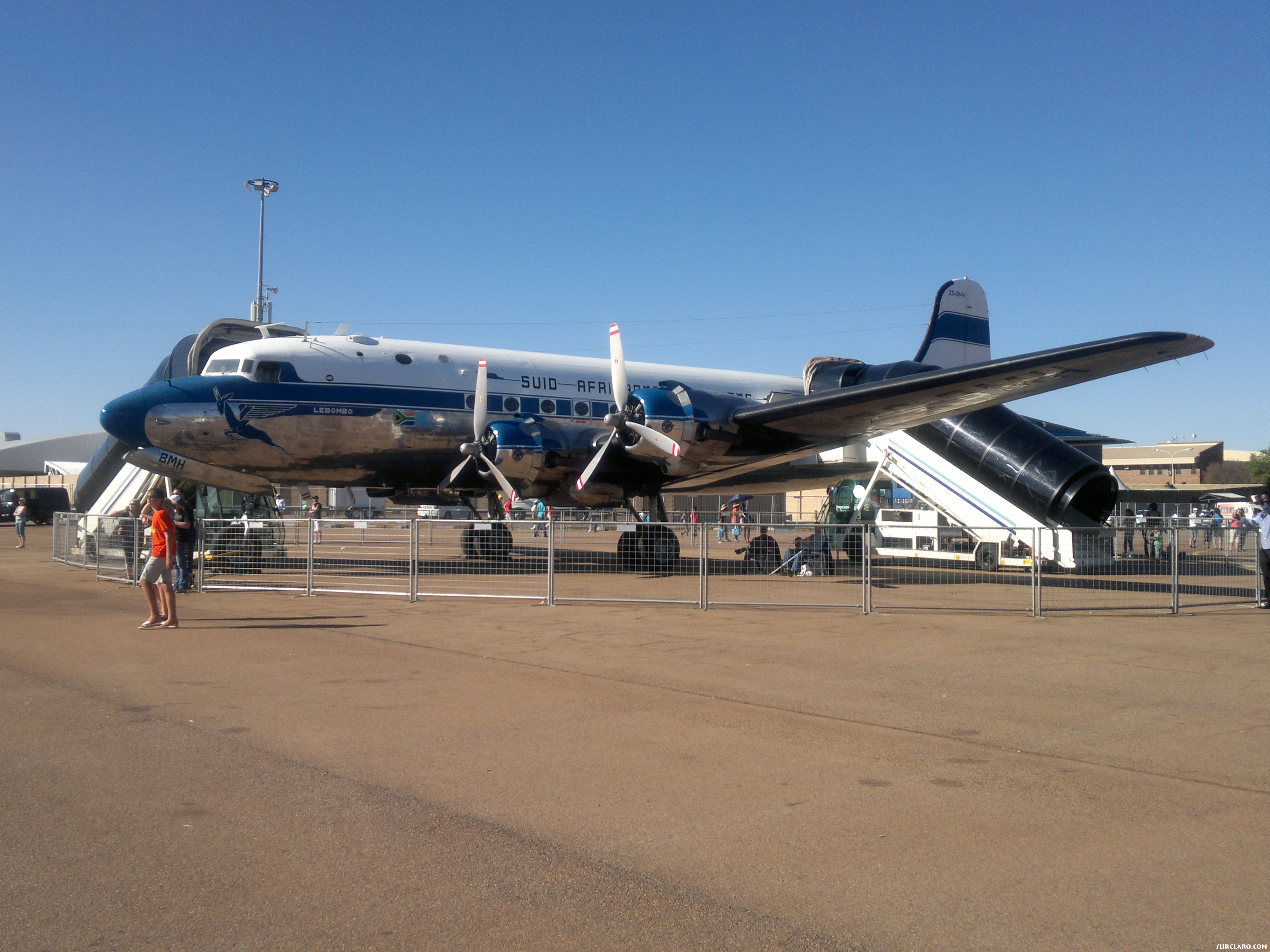 DC4 ZS-BMH AT THE AAD EXPO 2012 WATERKLOOF AFB - Photo 18742