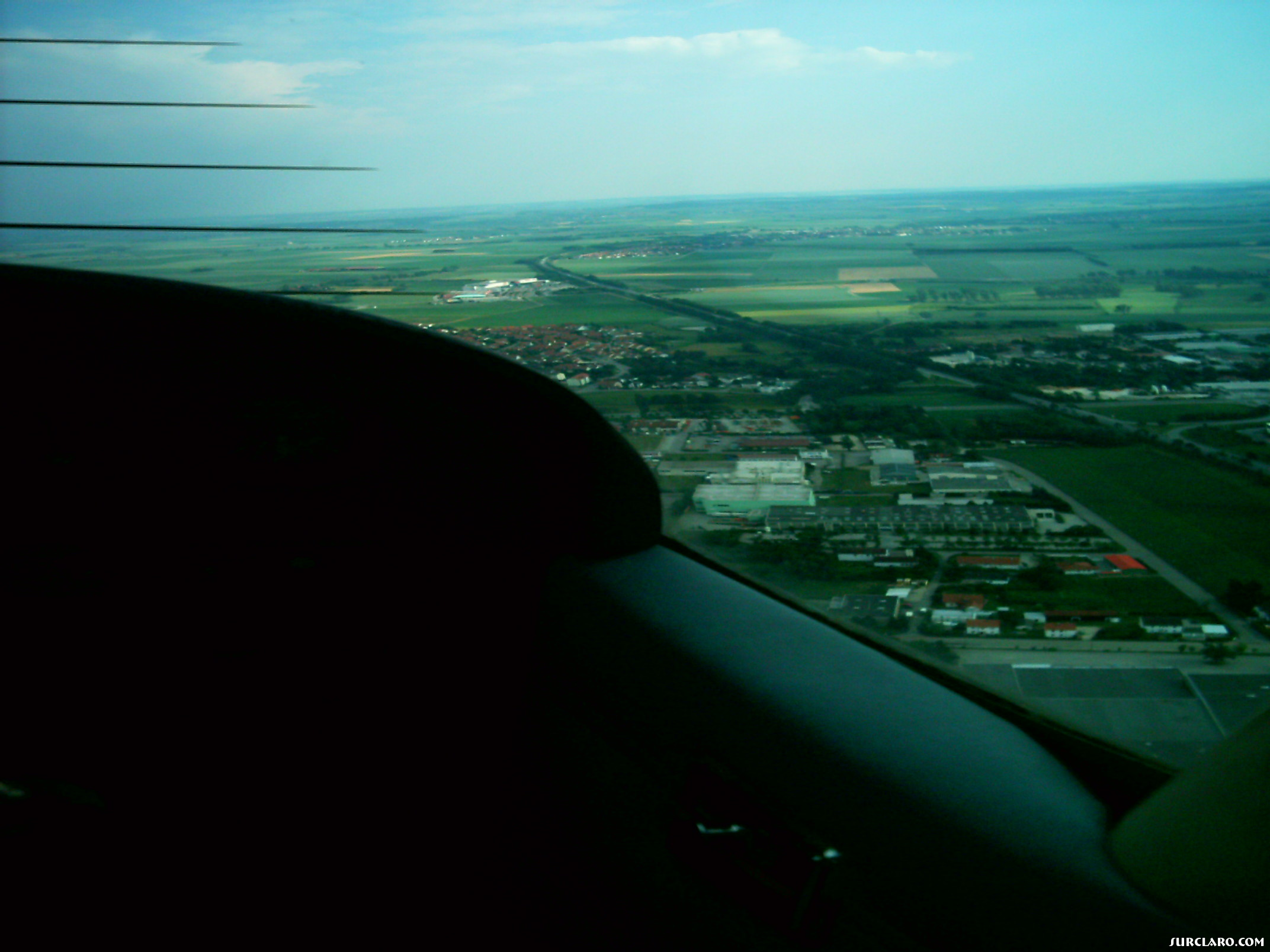 In Cessna 127