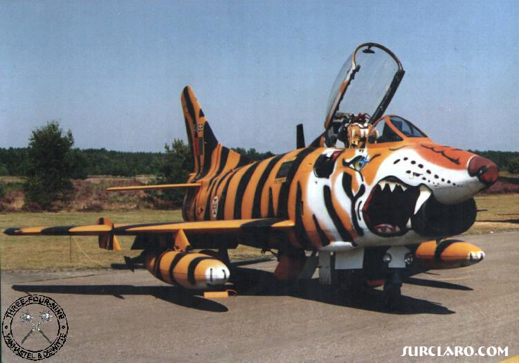 An old Fiat G-91R from the portuguese air force...is his well known tiger meet livery - Photo 3325