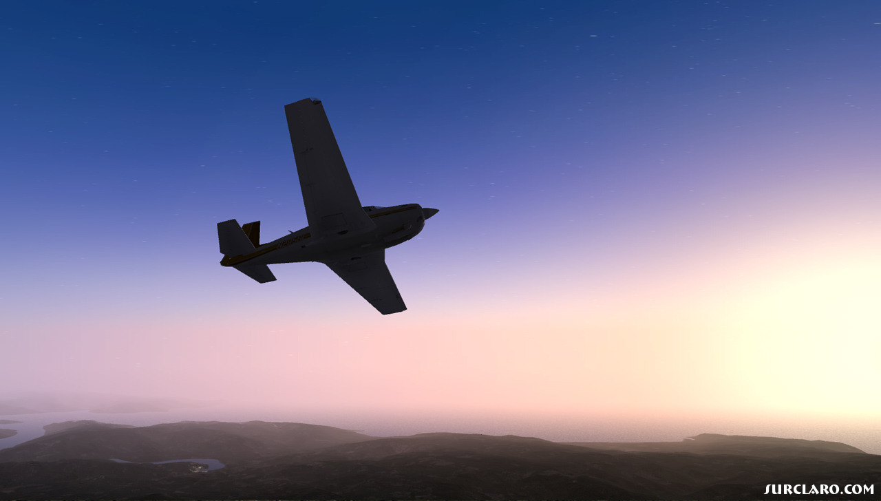 X-Plane Mooney at sunset - Photo 18714