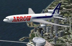Fs2002 L1011-200f Arrow Air Textures Mike image 1