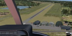 FSX Scenery 19S Sublette Flying Club KS Simple image 1