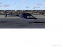 FS2004 Default Bell206b Patch I and image 1