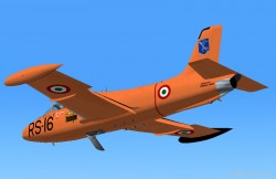 Fs2004 Aermacchi MB-326 Italian Air Force image 1
