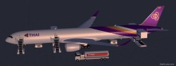 FS2004 THAI Airways International Airbus image 1