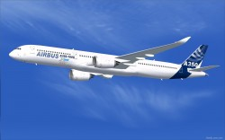 FSX Airbus House Colors Airbus A350-1000 XWB V2 image 1