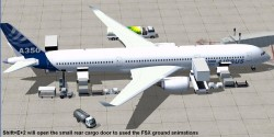 FSX Airbus House Colors Airbus A350-1000 XWB V2 image 2