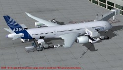 FSX Airbus House Colors A350-800 Airbus XWB V2 image 1