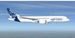 FSX Airbus House Colors A350-800 Airbus XWB V2 image 2