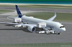 FSX Airbus A350-800 Airbus House Colors image 1