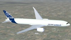 FS2004 Airbus A350-900F cargo Airbus House image 1