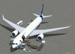FS2004 Airbus A350-900F cargo Airbus House image 2