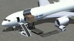 FSX Airbus A350-900F cargo Airbus House image 3