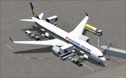 FSX Singapore Airlines Airbus A350-900 XWB V2 image 2