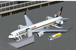 FSX Singapore Airlines Airbus A350-900 XWB image 1