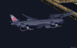 FS2004 China Airlines Airbus A350-900 XWB V2 image 1