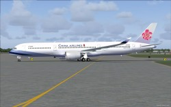 FS2004 China Airlines Airbus A350-900 XWB V2 image 2