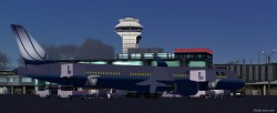 FS2004 United Airlines Airbus A350-900 XWB V2 image 1