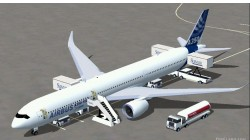 FSX Airbus A350-1000 Airbus House Colors image 1