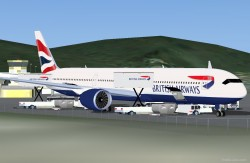 FSX British Airways Airbus A350-1000 XWB image 2