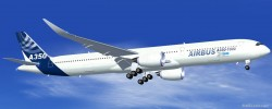 FS2004 House Colors Airbus A350-1000 XWB image 1
