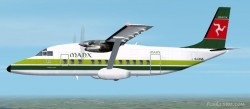 Fs2002 Shorts 360 Manx Airlines Isle Man image 1