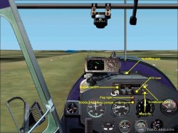 FS2002 Italian Ultralight Machine storch 582cl image 2