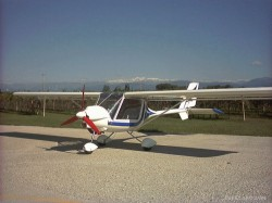 FS2002 Italian Ultralight Machine storch 582cl image 3
