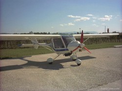 FS2002 Italian Ultralight Machine storch 582cl image 4