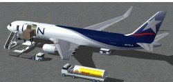 FSX LAN Airlines Cargo Boeing 767-300 ER with image 1