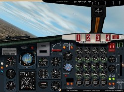 Boeing 707-320 Panel 3.0 FS2002 and FS2000 image 1