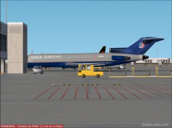 Ffx Boeing 727-222adv United Airlines New Colors image 1