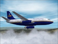 Fs2000 - Fs2002 Boeing 737-287 Advanced Southern image 1
