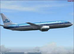 B737-800 KLM-web livery features: exelent image 3